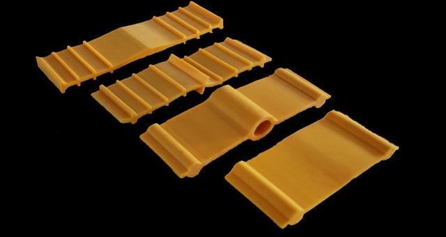 Plastik Sarı Su Tutucu Bantlar